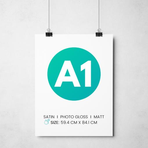 A1 poster printing london